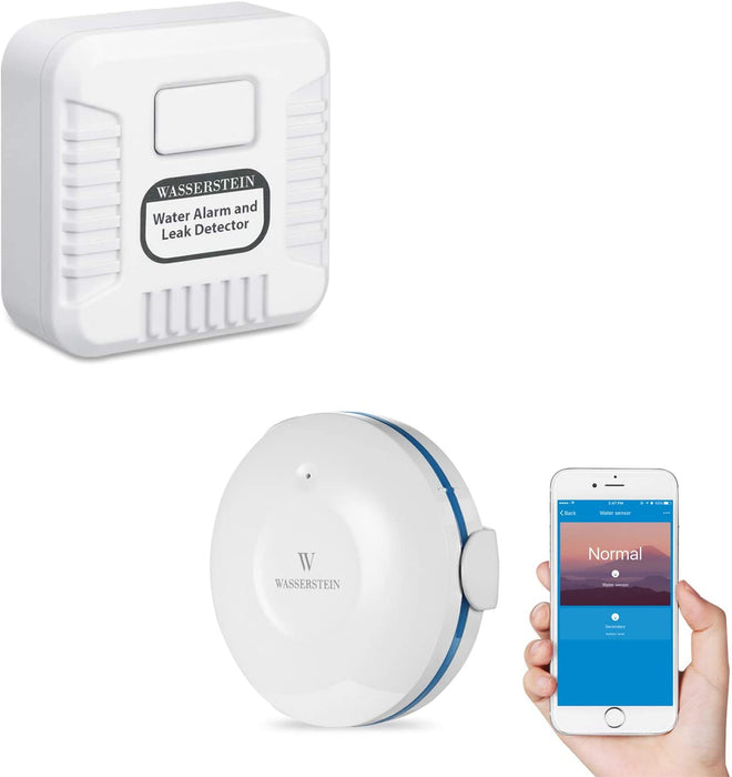 Water Alarm Leak Detector & Smart Water Sensor Bundle | Wasserstein Home