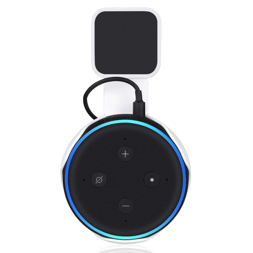 AC Outlet Mount for Echo Dot (3rd Gen) | Wasserstein Home
