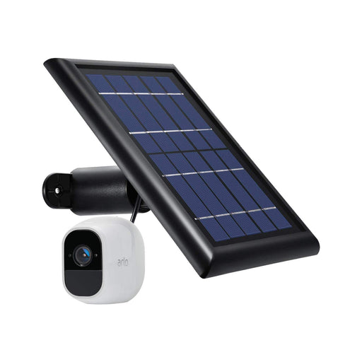 Arlo Pro 2 Add-on Camera (VMC4030P) Bundled with Black Solar Panel | Wasserstein Home