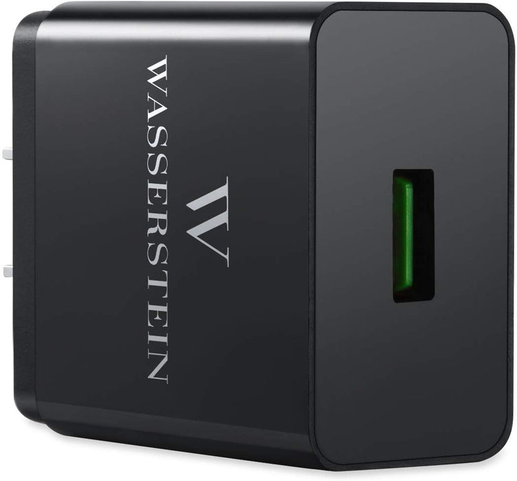 Super Quick Charge 3.0 2 Port USB Charger | Wasserstein Home