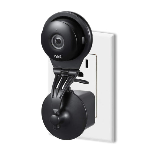 Wasserstein 360 Degree Swivel Nest Cam AC Outlet Mount - Flexible Mounting Option for Your Home Security Camera | Wasserstein Home