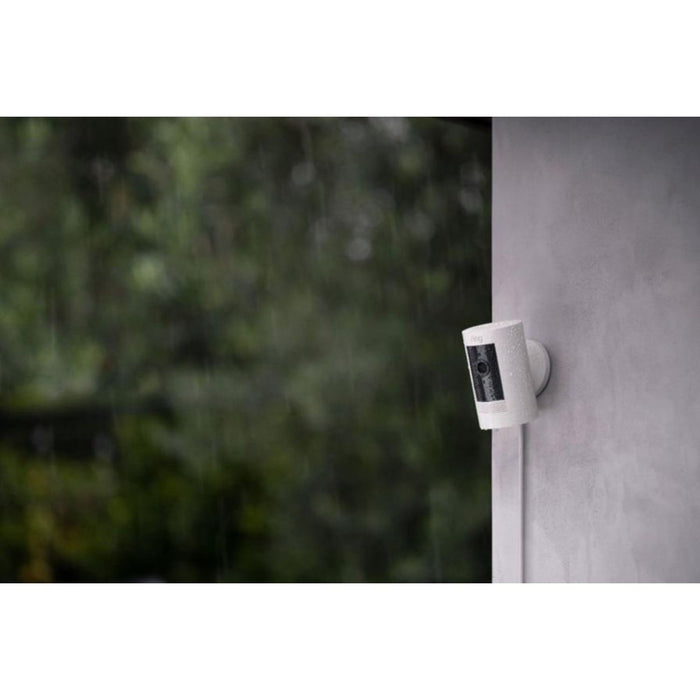 Ring Video Doorbell 3 and Ring Stick Up Cam Battery with Floodlight Bundle