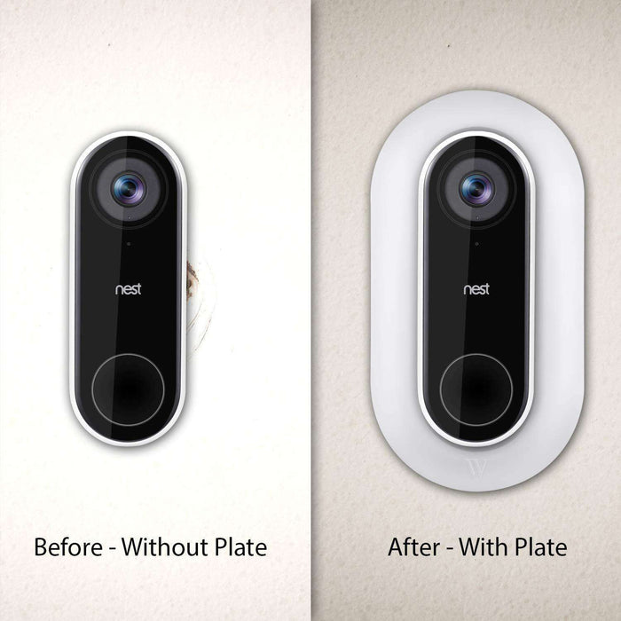 Outdoor Wall Plate for Nest Hello Video Doorbell | Wasserstein Home