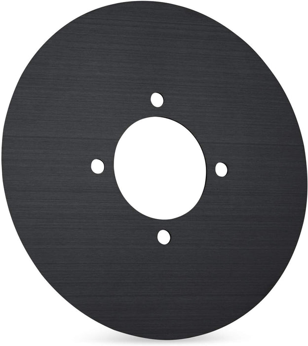 "Beautiful Round 6"" Wall Plate Cover for All 2nd and 3rd Generation Google Nest Thermostat by Wasserstein"