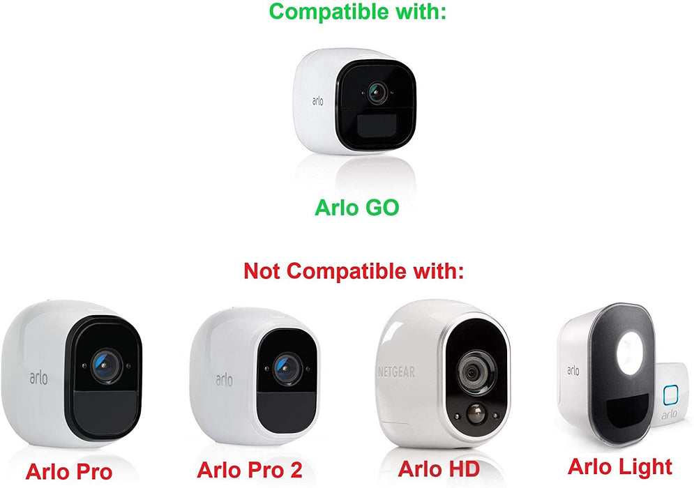 Ghillie Skin Compatible with Arlo Go Smart Security - 100% Wire-Free Cameras — by Wasserstein