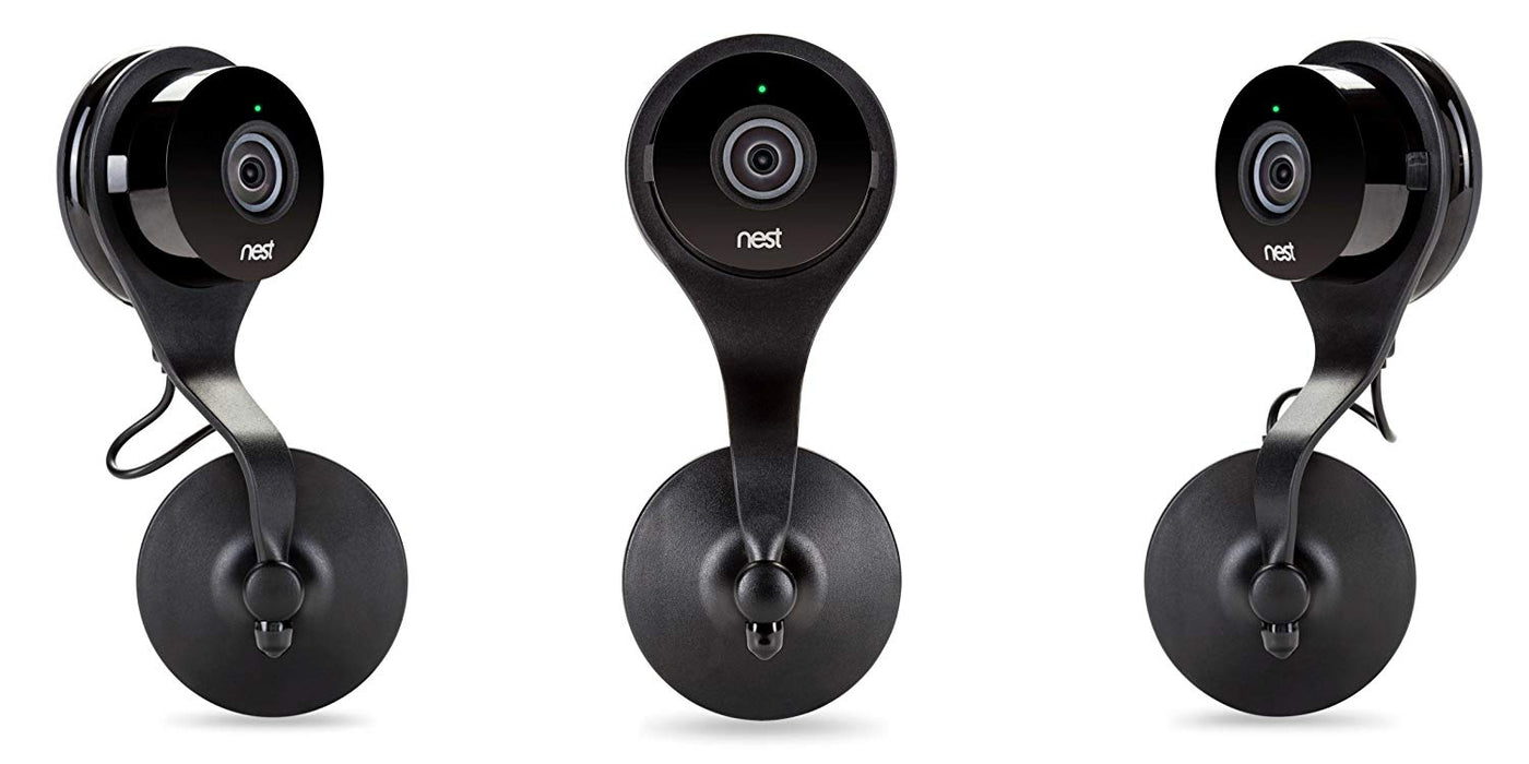Nest Cam AC Outlet Mount - Wall Mount with 360 Degree Swivel for Google Nest Cam and Dropcam PRO