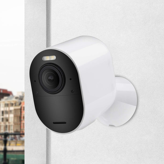 Wasserstein Indoor/Outdoor Magnetic Wall Mount Compatible with Arlo Ultra/Ultra 2 & Arlo Pro 3/Pro 4 (White)