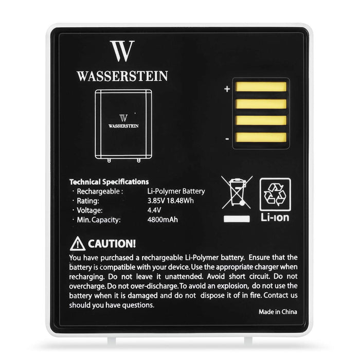 Wasserstein Rechargeable Battery Compatible with Arlo Ultra -  NOT Compatible with Arlo Pro, Pro 2