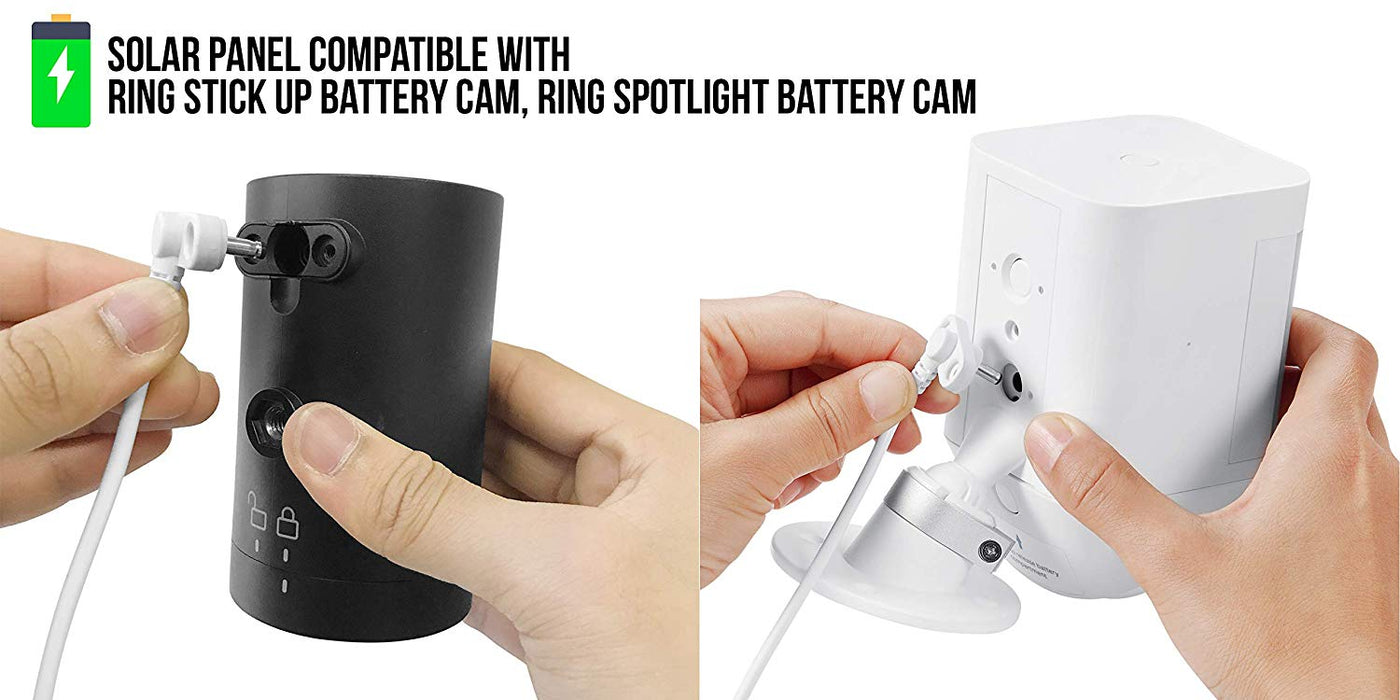 Ring Stick Up Cam Battery bundle