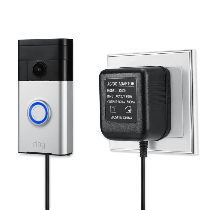 Power Supply Adapter for the Ring Video Doorbells | Wasserstein Home