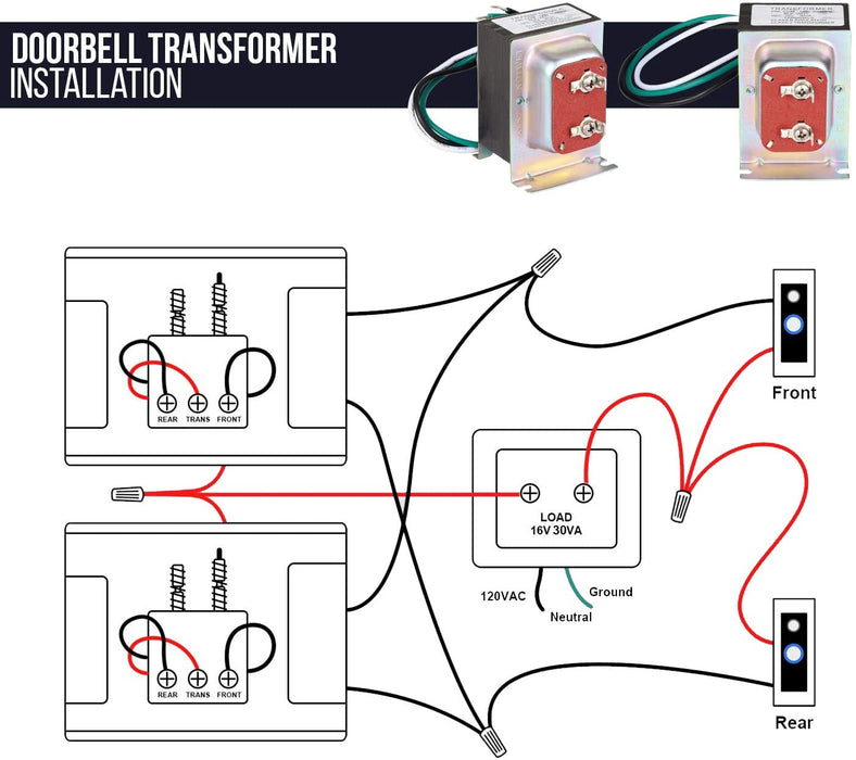 Wiring Diagram For The Transformer For The Tranformer For A Nest Doorbell from cdn.shopify.com