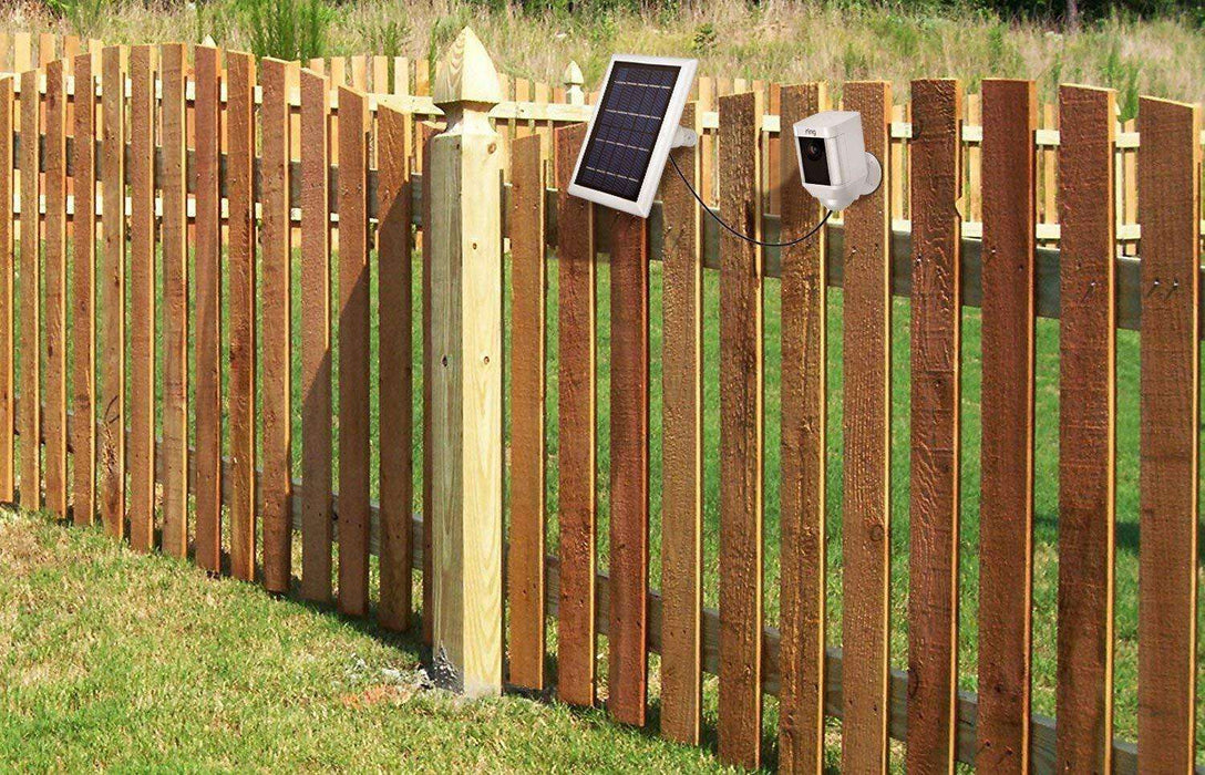 Solar Panel And Weatherproof Gutter Mount Bundle