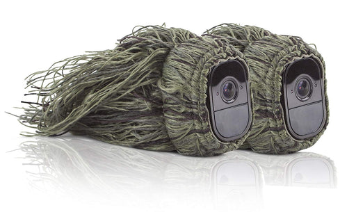 Ghillie Skin for Arlo Pro & Pro 2 Smart Security - 100% Wire-Free Cameras | Wasserstein Home