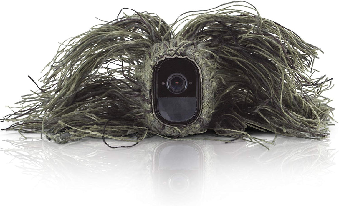 Wasserstein Ghillie Skin Compatible with Arlo Pro & Arlo Pro 2 Smart Security
