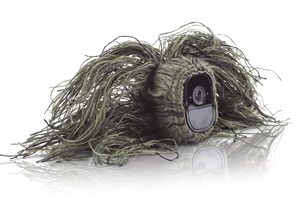 Wasserstein Ghillie Skin Compatible With Arlo Pro /& Arlo Pro 2 Smart Security...