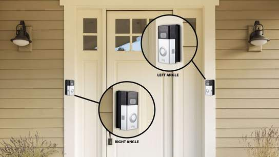 Ring Video Doorbell and Stick Up Cam Battery with Solar Panel Bundle
