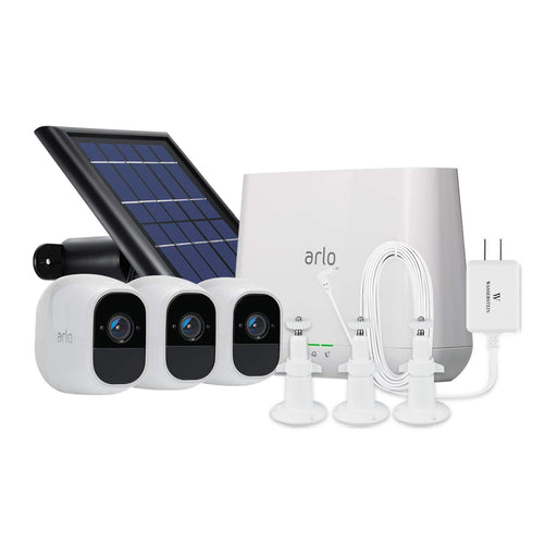 Arlo Pro 2 Cam Kit with Solar Panel, Weatherproof Quick Charger & Silicone Skin | Wasserstein Home