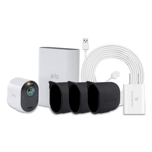 Arlo Ultra 1-Pack Kit Bundle With Cable & Skins  | Wasserstein Home