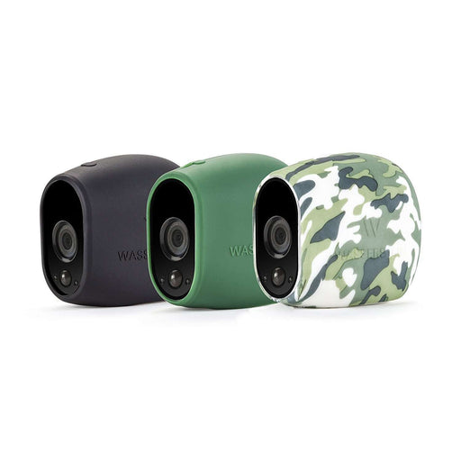 Silicone Skins for Arlo Pro and Arlo HD Smart Security - 100% Wire-Free Cameras (3 Pack)