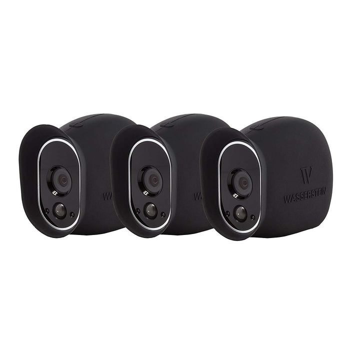 Silicone Skins for Arlo HD Smart Security - 100% Wire-Free Cameras (3 Pack)