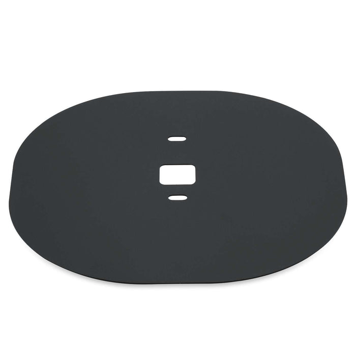 Sophisticated Aluminium-Alloy Flat Metal Wall Plate for ECOBEE 4 Smart Wi-Fi Thermostat
