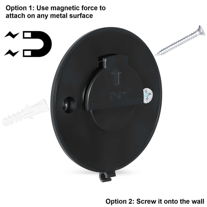 2 in 1 Magnetic Wall Mount for Amazon Cloud Cam | Wasserstein Home