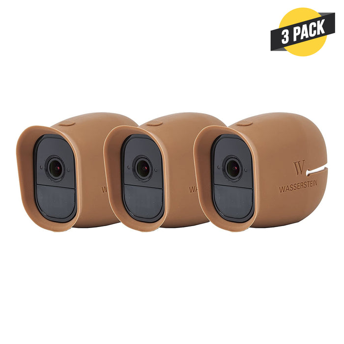 Wasserstein Silicone Skins Compatible with Arlo Pro & Arlo Pro 2 Smart Security Cameras (3 Pack)