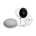 Nest Cam IQ Indoor and Google Home Mini with Wall Mount Bundle