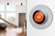 Nest Learning Thermostat 3rd Gen with Wall Plate Bundle
