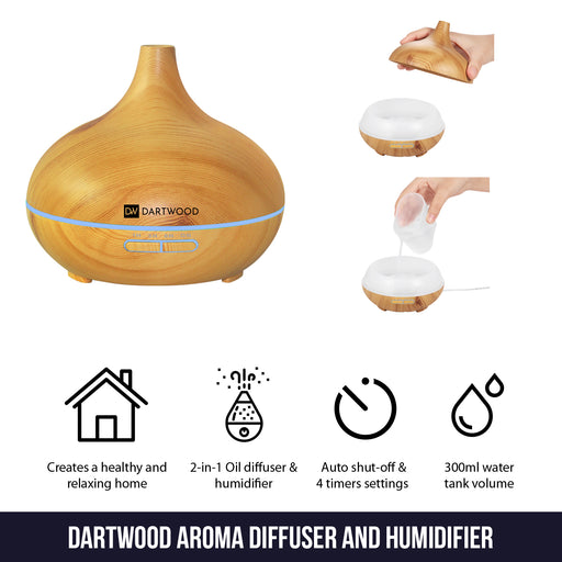 Aromatherapy Humidifier and Diffuser