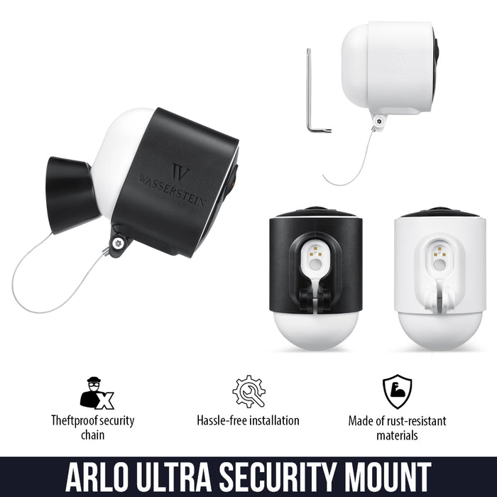 Arlo Ultra Security Cover: Protective & Theftproof  | Wasserstein Home