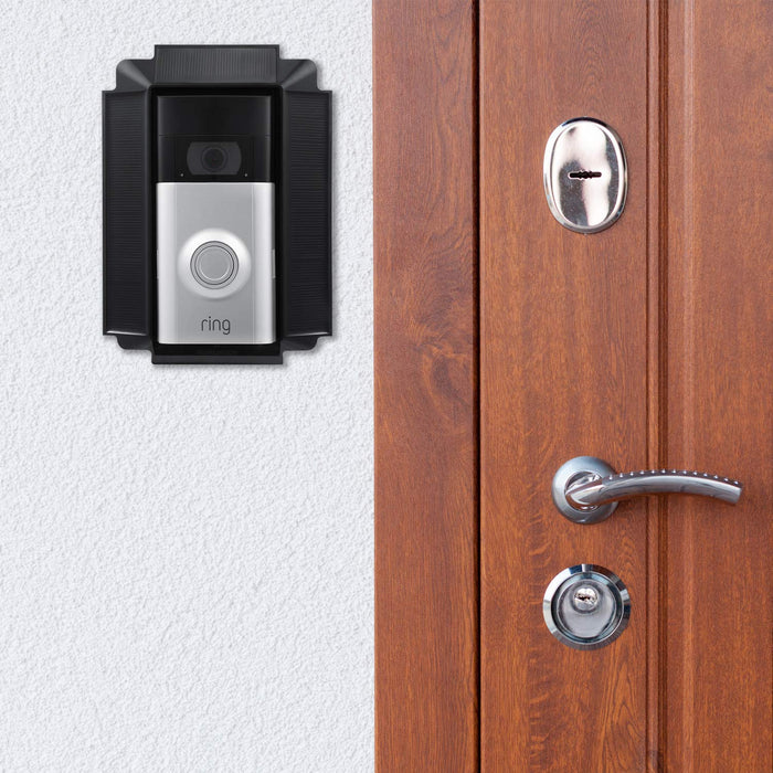 Ring Video Doorbell 2 with Solar Charger Mount Bundle