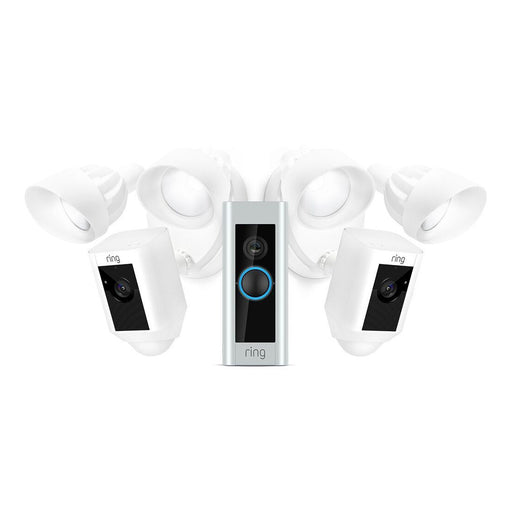 Ring Floodlight Camera and Ring Video Doorbell Pro Bundle