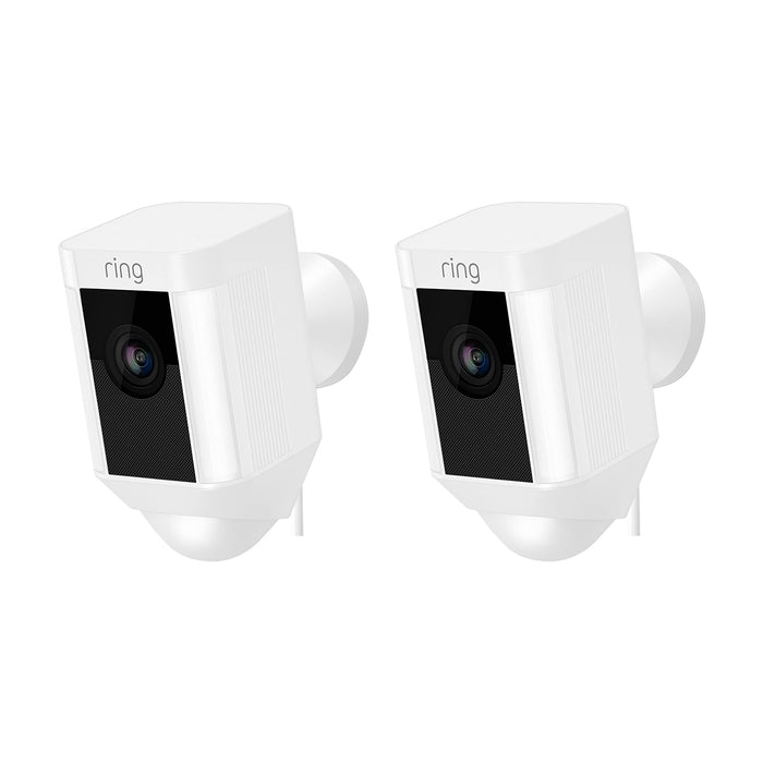 Ring Spotlight Cam Wired 2-Pack Bundle