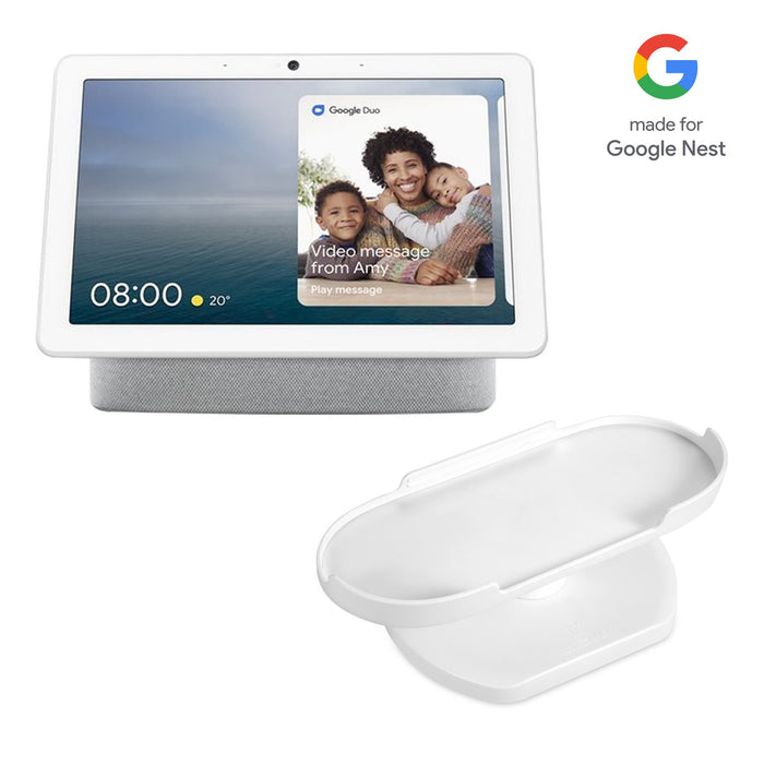 Google Nest Hub Max Smart Display Bundled with [Official Made for Google] Wasserstein Adjustable Stand