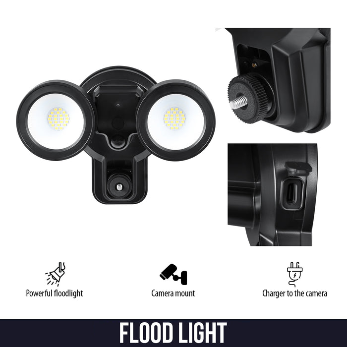 Wyze Floodlight Charger Mount and Outdoor Case for Wyze Cam