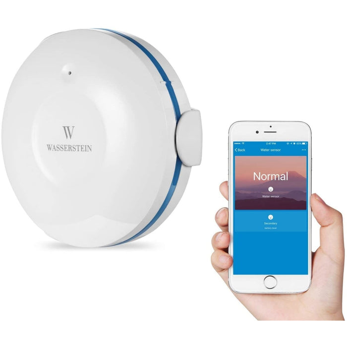 Smart Wi-Fi Water Sensor For Flood and Leaks | Wasserstein Home