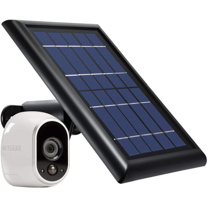 Wasserstein Solar Panel with Internal Battery Compatible with Arlo HD ONLY - Power Your Arlo Surveillance Camera continuously