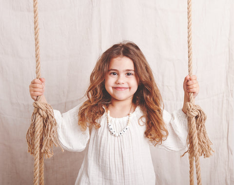 safe children's necklaces and jewelry, custom personalised necklaces, empowering kids through self expression and stylish jewelry. safety clasp necklaces for kids by grech & co. based in Malta and Denmark, Europe
