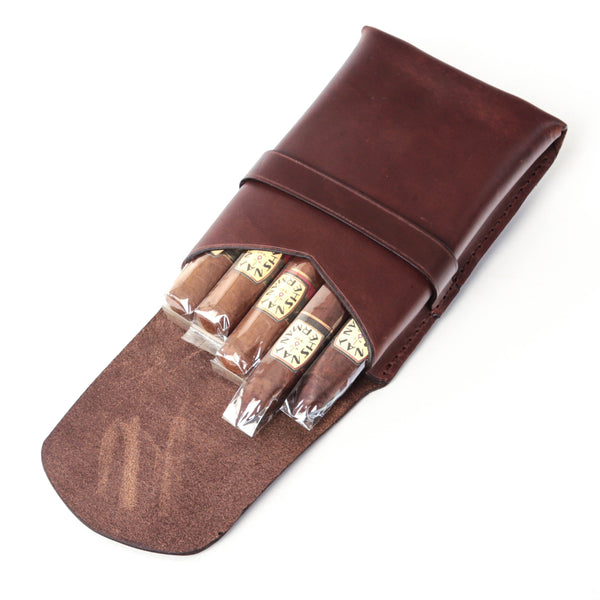 Cigar Case (Antique Brown)