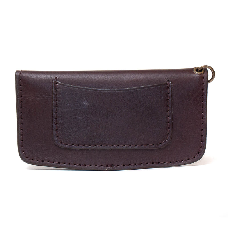 Moto Wallet (Dark Brown)