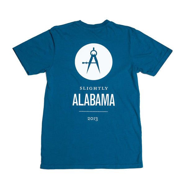 Slightly Alabama Logo T-Shirt (Blue)