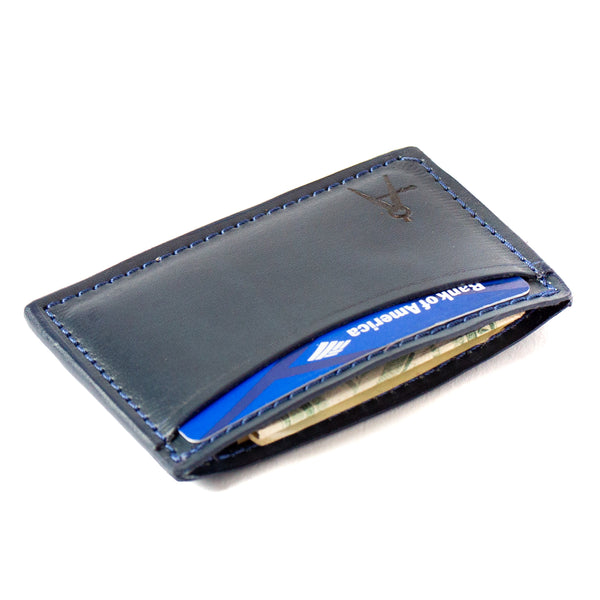 3-Pocket Card Case (Navy)