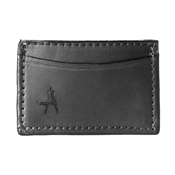 3-Pocket Card Case (Black)