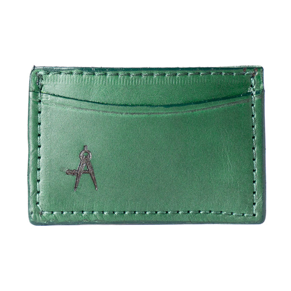 3-Pocket Card Case (Green)
