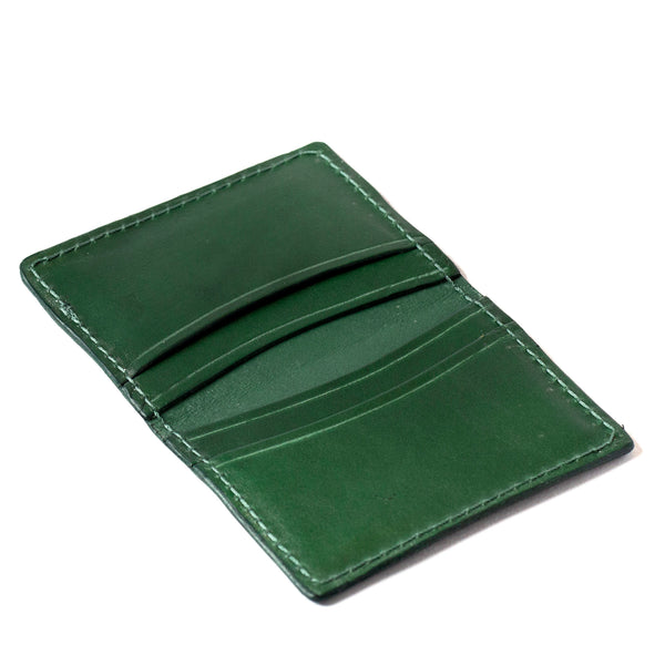 Fold-over Card Wallet (Green)