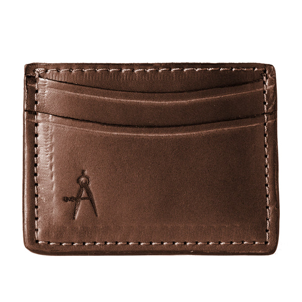 5-Pocket Card Case (Dark Brown)