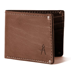 Bifold Wallet (Dark Brown)