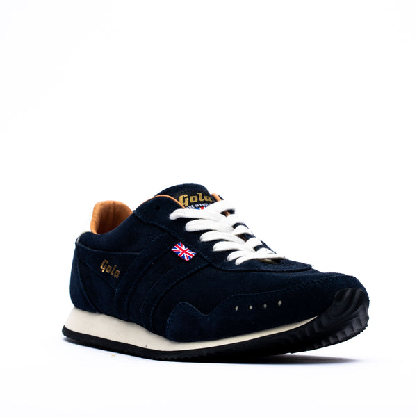 Gola Track Suede 317 Trainer Navy/Navy