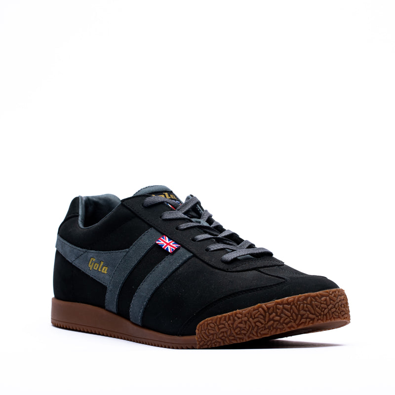 Gola Harrier 72 Trainers Black/Graphite